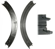 "2pc TYCO 1976 to New Mattel HO Slot Car 1/4 9"" SINGLE LANE CURVE TRACKS B5831"