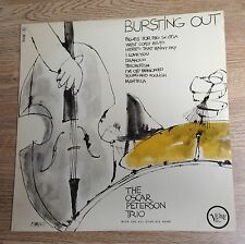 "LP original France Oscar Peterson Trio ""Bursting out"" 1964  quasi NEUF"