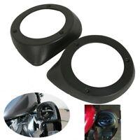 Pair 6.5 inch Speaker Boxes Pod Lower Vented Leg Fairings Fit for Touring R L8V4