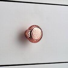 RAME martellato Oro Rosa Cassetto Porta Armadio Tirare Armadietto Manopola Maniglia metallico