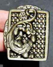 "1.6"" Jewelry Beautiful Gold OBSIDIAN Crystal Pendant"