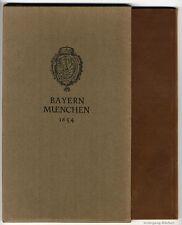 Zeiller: Bayern München, Frankfurt/Main, Merian 1654, Faksimile von 1964.