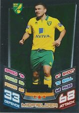 N°390 SNOOGRASS # SCOTLAND NORWICH CITY.FC TRADING CARD MATCH ATTAX TOPPS 2013