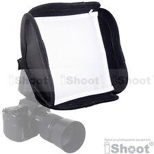 iShoot flash soft box diffuser for speedlite Sunpak PZ42X PZ40X PZ30 Nikon Canon
