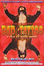 Bad Tattoo Movie POSTER Ron Donovan Chuck Sperry Firehouse