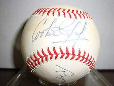 Cookie Rojas & Ryne Duren---Autographed Baseball