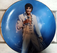 """Elvis Presley """" King of Las Vegas """" Limited Edition Collector Plate"""