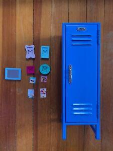 American Girl 2017 blue Truly Me Locker set for American Girl Doll