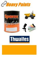 Thwaites Dump Truck Yellow Paint High Endurance Enamel Paint 1 Litre Tin