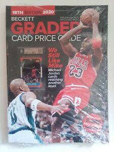 2020 18th Edition Beckett Graded Card Price Guide NEW $29.95 Cover Jordan Bulls