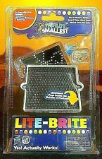 NEW WORLD'S SMALLEST LITE BRITE!! - Toy Doll House Miniature Light Bright Pegs