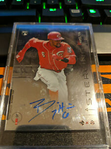 2014 Bowman Sterling Rookie Billy Hamilton Autograph Auto Reds