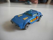Modell Auto Firs chief Police in Blue (Matchbox Copy Fire Chief)
