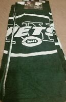 "New York Jets NFL Team Logo Licensed Beach/Bath Towel by Northwest Co., 30""×60"""