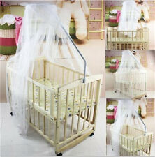 Nursery Baby Canopy/ Drape/ Mosquito Net For Cot Bed Insect Netting 160*435cm