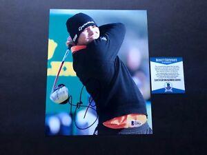 Jason Day Hot! signed autographed PGA golf 8x10 photo Beckett BAS coa