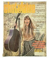 Joni Mitchell Vintage Magazine September 1969 Chatelaine Cohen Lightfoot ADS