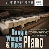Various - Boogie Woogie & Blues Piano (2017)  10CD Box Set  NEW  SPEEDYPOST