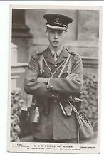 ROYALTY - PRINCE of WALES in GRENADIER GUARDS UNIFORM Real Photograph Postcard