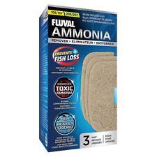 Fluval 106/107 -206/207 Ammonia Remover (3 Pack) Canister Media **GENUINE**