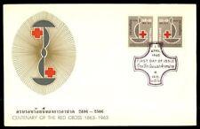 Briefmarken mit Rotes Kreuz aus Thailand