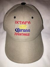 Men's Corona IXTAPA ZIHUATANEJO Embroidered  Adjustable  Baseball Cap Hat EUC
