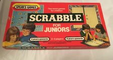 "Vintage Spears Games 1983 Version ""Scrabble For Juniors"", Complete, 2 x Games"