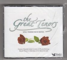 The Great Tenors - Sing Their Favourites (cd Album) Readers Digest 5 X CD Set