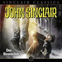JOHN SINCLAIR CLASSICS - FOLGE 29: DER HEXENCLUB  CD NEW