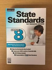 State Standards Test Preparation Software: Grade 8 - Cd-Rom - Factory Sealed New