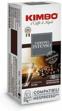 200 CAPSULE CAFFÈ KIMBO intenso   COMPATIBILI NESPRESSO Kimbo Espresso