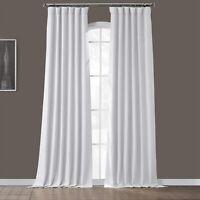 Exclusive Fabrics Bellino 50 x 108 Textured Blackout Curtain Chalk Off White NIP