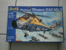 MAQUETTE HELICOPTERE WESTLAND WESSEX HAS. MK.3 REVELL (04898) 1/48 - 1.48eme