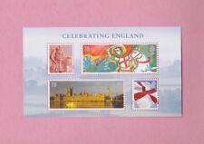 Great Britain, 2007 SGen50, Celebrating England, Mint mini sheet