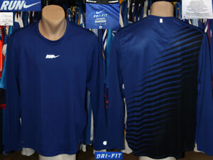 Nike Running Dri-Fit Training Longsleeve Shirt Top Trikot Jogging