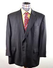 HICKEY FREEMAN Sport Coat MEN 50 R 100% WOOL CHARCOAL GRAY