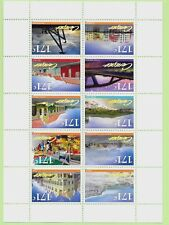CURACAO Sc 90 NH MINISHEET of 2012 - TOURIST ATTRACTIONS