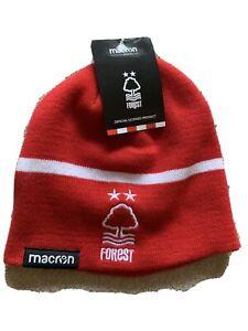 Nottingham Forest Macron Beanie Hat - BNWT