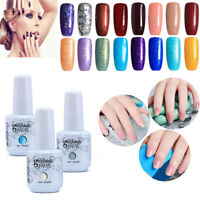 15ml Gelpolish Soak Off Gel Nail Polish Base Top Coat LED Manicure 069~136 Hot·