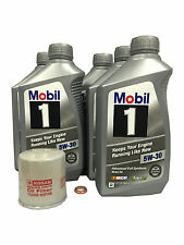 Mobil 1 5W-30 Full Synthetic Oil Change Kit 15208-65F0E