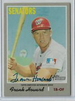 2019 Topps Heritage High Number Real One Autograph Frank Howard Washington