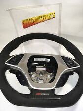 2015-2016 CORVETTE BLACK SUEDE STEERING WHEEL W/ AUTO TRANSMISSON  23377949