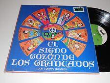 EL SIGNO GOZON DE LOS GRADUADOS Latin Gustavo Quintero album Zeida ZLP-232 vinyl