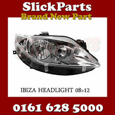 SEAT IBIZA TWIN HEADLIGHT HEADLAMP 2008 2009 2010 2011 2012 BRAND *NEW*
