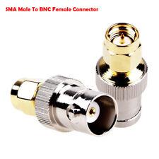 RF Coax Coaxial SMA Male Plug to BNC Female Radio Antenna Connector Adapter lh