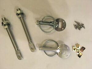 Silver Competition Bonnet Pins Autograss BRISCA Stock Car Rally Kit Car