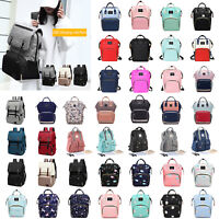 Baby Diaper Nappy Mummy Hospital Backpack Maternity Changing Bag Multifunction
