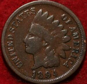 1894 Philadelphia Mint  Indian Head Cent