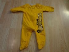 Infant/Baby Iowa Hawkeyes 3/6 Mo Footies Pajamas PJs (Yellow) Pro Edge
