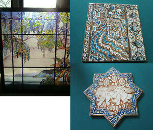 METROPOLITAN MUSEUM OF ART MMA TILES, STAINED GLASS PICK ONE
